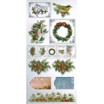 Couture Creations Christmas Emporium Adhesive Chipboard