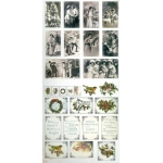 Couture Creations Christmas Emporium Ephemera Paper Pack ( 27 Pcs )