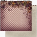 Couture Creations - 12 x 12 Paper (5 sheets) - Pansy Gingham