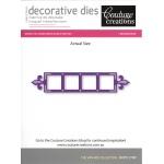 Couture Creations Die - Photo Strip