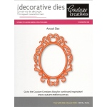 Couture Creations Die - Royal Oval
