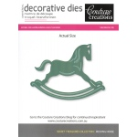 Secret Treasures Die - Rocking Horse