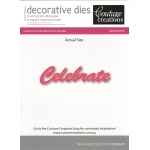 Couture Creations Die - Celebrate