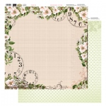 Couture Creations 12X12 Patterned Paper  - Time - Vintage Rose Collection (5)