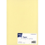 Ecstasy Crafts Joy! Crafts Card Stock A5  - Light Yellow