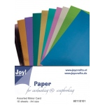 Ecstasy Crafts Mirror Cardstock - 10 Pcs Winter Colors