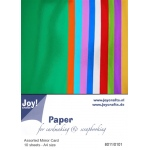 Mirror Cardstock - 10 pcs Winter colors