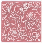 EC Embossing Folder - Large Roses