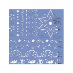 Ecstasy Crafts Parchment Craft Perforating & Embossing Kit - Fun Embossing Border