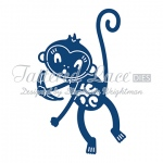 Tattered Lace Die - Monkey