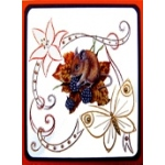 KC Embroidery Pattern - Butterfly Frame