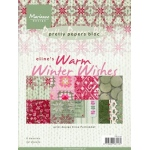 Marianne's Pretty Paper Bloc-Eline's Warm Winter Wishes