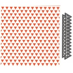 Marianne Design  Embossing Folder & Die: Triangles