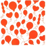 Embossing folder - Design Folder - Balloons