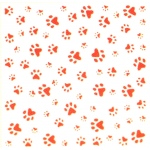 Embossing folder - Design Folder - Paws