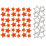 Embossing + die - Design Folder - Stars