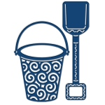 Tattered Lace Die - Sand Bucket and Spade