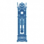 Tattered Lace Die - Grandfather Clock
