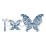 Tattered Lace Die - Build a Butterfly Wondrous 2 pc.