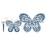 Tattered Lace Die -Build a Butterfly Magnificent