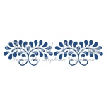 Tattered Lace Die - Floral Swirls Border