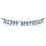 Tattered Lace Die - Washing Line Happy Birthday
