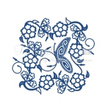 Tattered Lace Die - Tudor Rose Tapestry