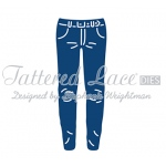 Tattered Lace Die - George's Jeans