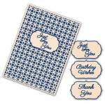 Tattered Lace  Interchangeable Embossing Folder - Linked Circles