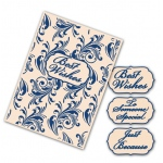 Tattered Lace  Interchangeable Embossing Folder - Flourish Swirls