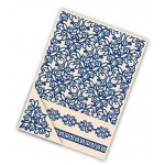 Tattered Lace  Embossing Folder Set - Fretwork Lace