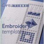Crea Book Erica's Embroidery Templates