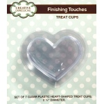 Creative Expressions   -  Heart Shaped Treat Cups