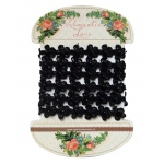 Marianne Design Romantic Lace Ribbon - Black