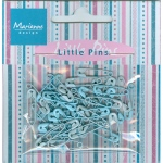 Decoration - Mini pins - light blue & blue