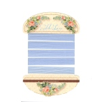Marianne Design Silk Lace Ribbon - Pale Blue
