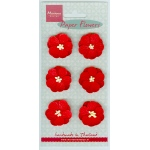 Marianne Design Red Flowers Small