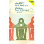 Ecstasy Crafts Christmas Basic Embroidery Stencil Light