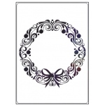 Embossing Folder - Wreath
