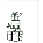 Embossing Folder - Boxes of Presents