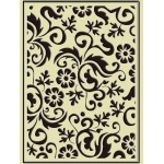 Embossing Folder - Flower Flourish