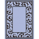 Embossing Folder Scrollwork Frame