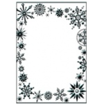Ecstasy Crafts Embossing Folder - Frost Frame