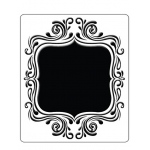 Embossing Folder Fancy Frame