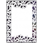 Embossing Folder - Poinsettia Frame