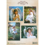 A4 Sheets vintage - Angel Wings