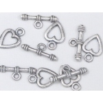 Nellie's Choice Toggles - Heart (5)