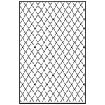 Nellie's Choice Embossing Folder A4 Size - Lattice