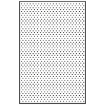 Nellie's Choice Embossing Folder A4 Size - Dots