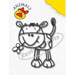 Clear Stamp - Animals Series - Cow-Girl